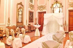 Дом Офицеров выездная регистрация розовая гостиная